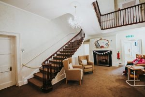 Oxendon House entrance hall & stairs