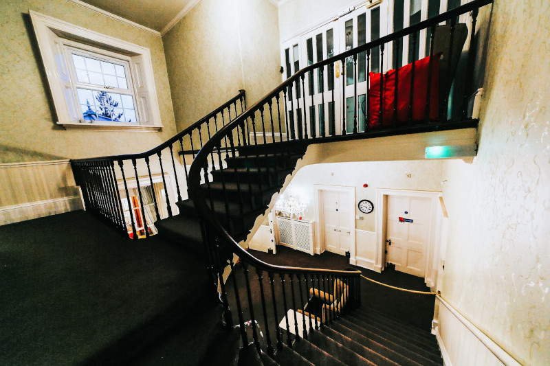 Oxendon House stairway